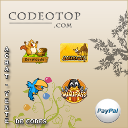 Codeotop - Achat/Vente de codes