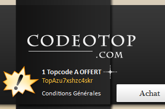 Topcodes Offerts
